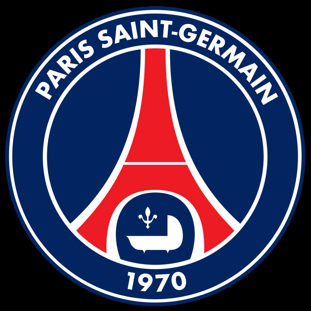 Логотип Paris Saint-Germain (Пари Сен-Жермен) / Футбольные клубы /  Alllogos.ru